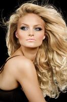 Extensii microring blond luminos
